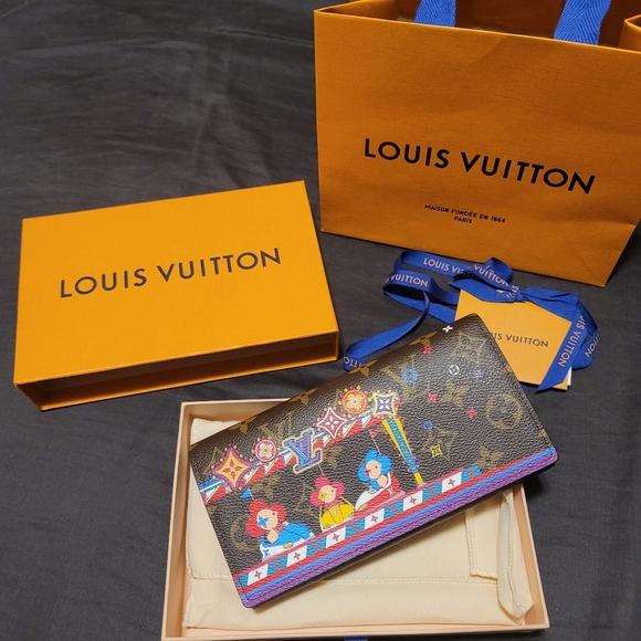Louis Vuitton Christmas Edition 2020 Sarah Wallet